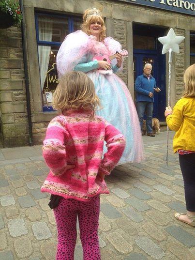 Glinda at Hebden Bridge Arts Festival